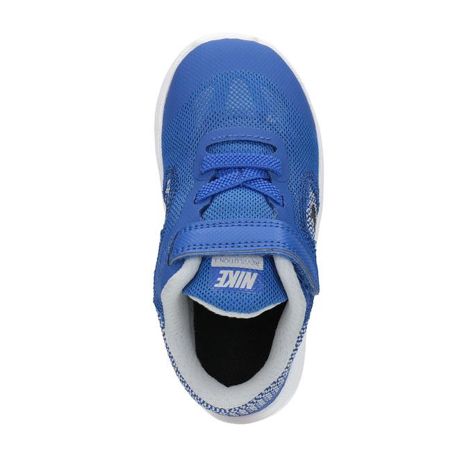 Dziecięce buty sportowe nike, niebieski, 109-9322 - 19