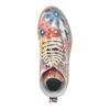 Skórzane botki z kolorowym kwiecistym wzorem weinbrenner, 596-2640 - 19