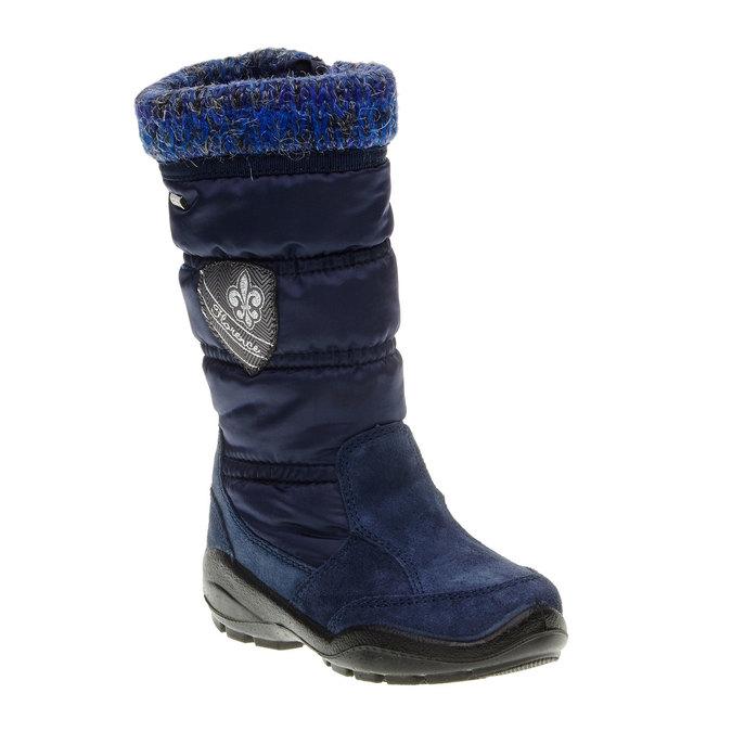 Dziewczęce buty zimowe mini-b, niebieski, 299-9151 - 13