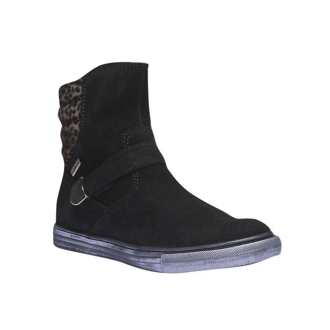 Dziewczęce buty do kostki richter, czarny, 393-6003 - 13