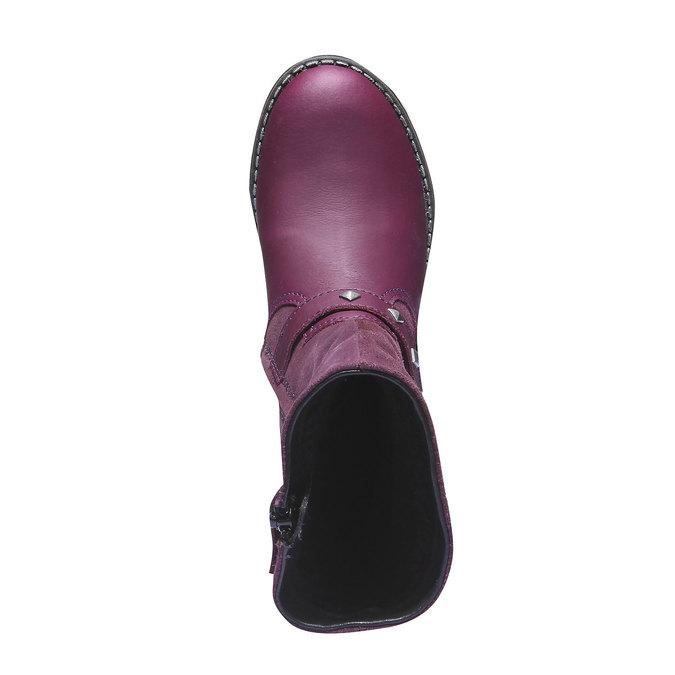 Buty dziecięce mini-b, czerwony, 394-5101 - 19