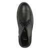 Skórzane buty typu chukka bata, czarny, 824-6665 - 19