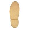 Skórzane buty typu chukka bata, czarny, 824-6665 - 26