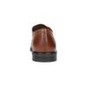 Skórzane półbuty zperforacją climatec, brązowy, 824-4210 - 17