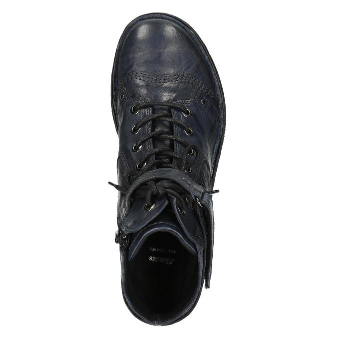 Damskie botki bata, niebieski, 526-9602 - 19