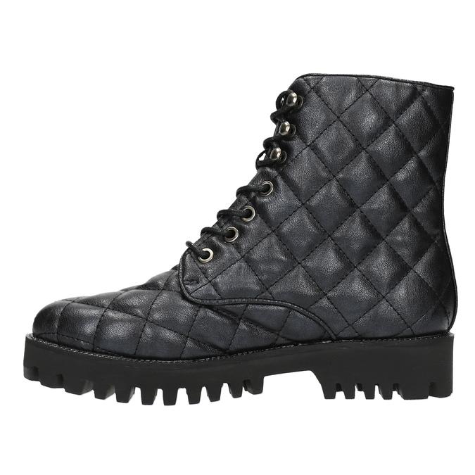 Botki damskie bata, czarny, 591-6614 - 26
