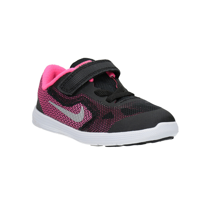 Modne dziecięce buty sportowe nike, czarny, 109-6322 - 13