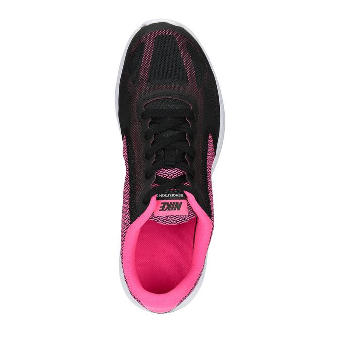 Dziewczęce buty sportowe marki Nike nike, czarny, 409-6322 - 19