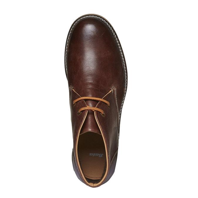 Skórzane buty do kostki typu desert bata, brązowy, 894-3114 - 19