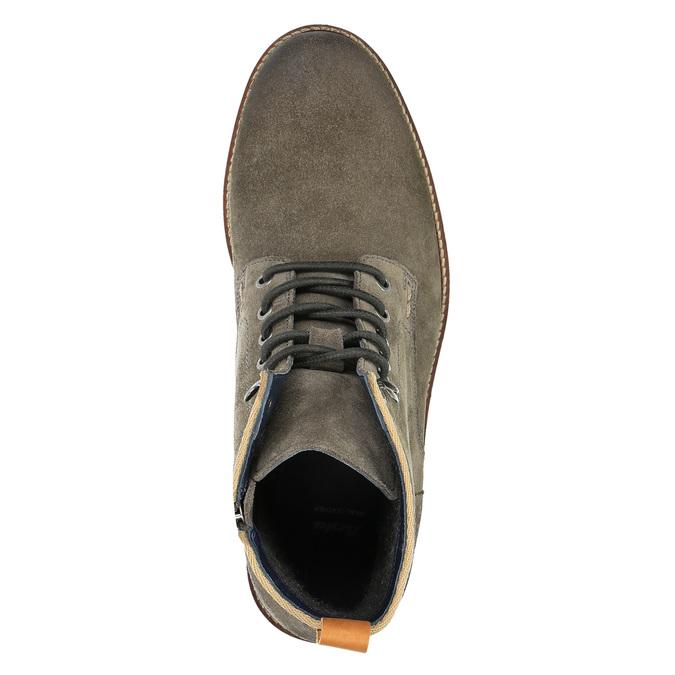 Męskie botki bata, szary, 893-2651 - 19
