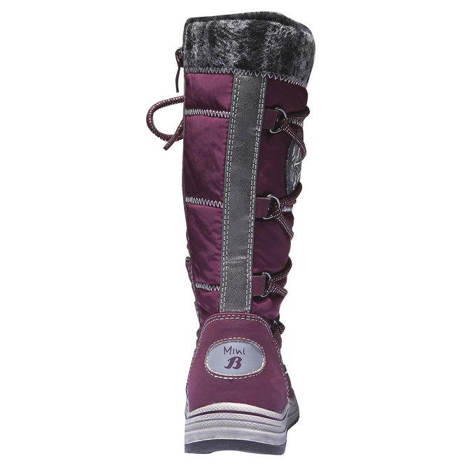 Dziewczęce buty zimowe mini-b, fioletowy, 299-9142 - 17
