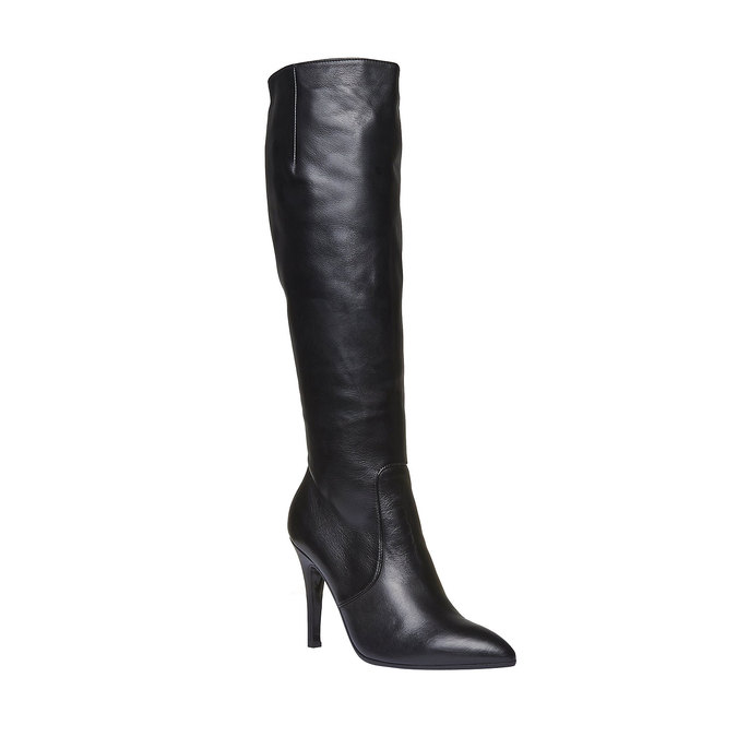 Botki damskie bata, czarny, 794-6119 - 13