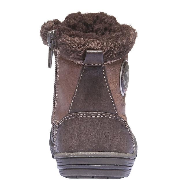 Buty dziecięce mini-b, brązowy, 191-4100 - 17