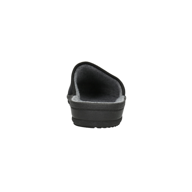 Kapcie męskie bata, czarny, 879-6601 - 17