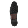 Półbuty męskie ze skóry bata, czarny, 824-6752 - 26