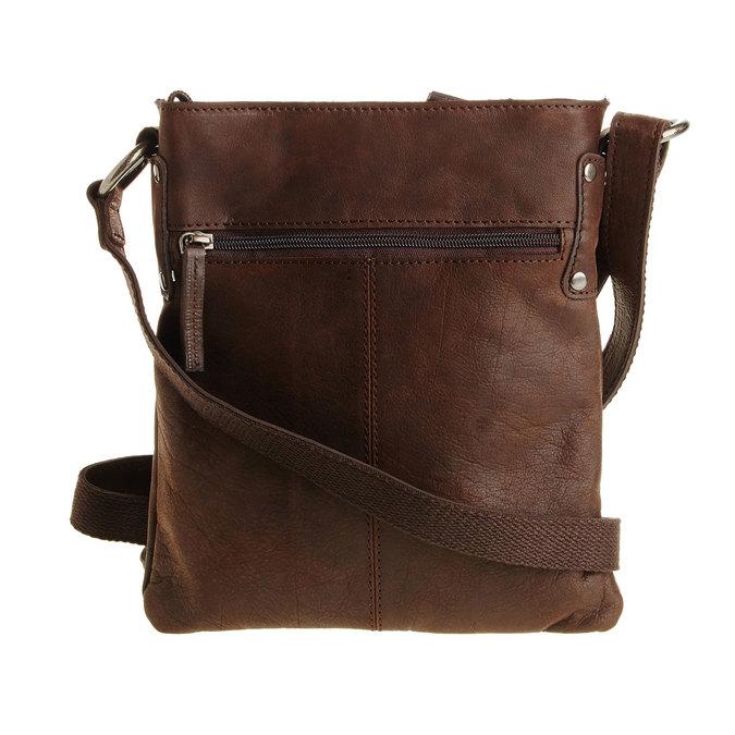 Skórzana torba listonoszka bata, brązowy, 964-4113 - 26
