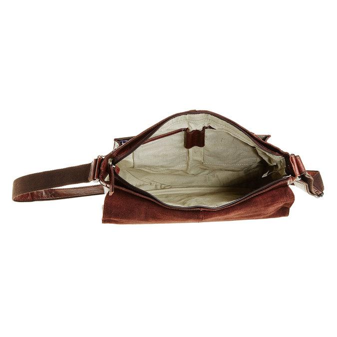 Skórzana torba bata, brązowy, 964-4178 - 15