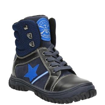Zimowe buty dziecięce mini-b, niebieski, 411-9602 - 13