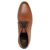 Nieformalne brązowe półbuty za kostkę bata, brązowy, 891-3600 - 19