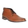 Nieformalne brązowe półbuty za kostkę bata, brązowy, 891-3600 - 13