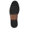 Skórzane buty męskie za kostkę bata, czarny, 826-6642 - 26