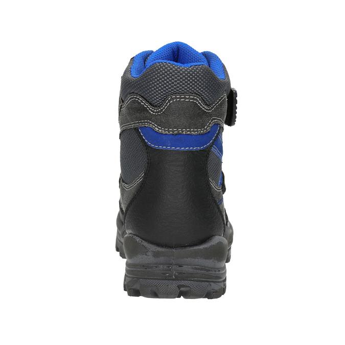 Dziecięce buty zimowe mini-b, czarny, 499-6103 - 17