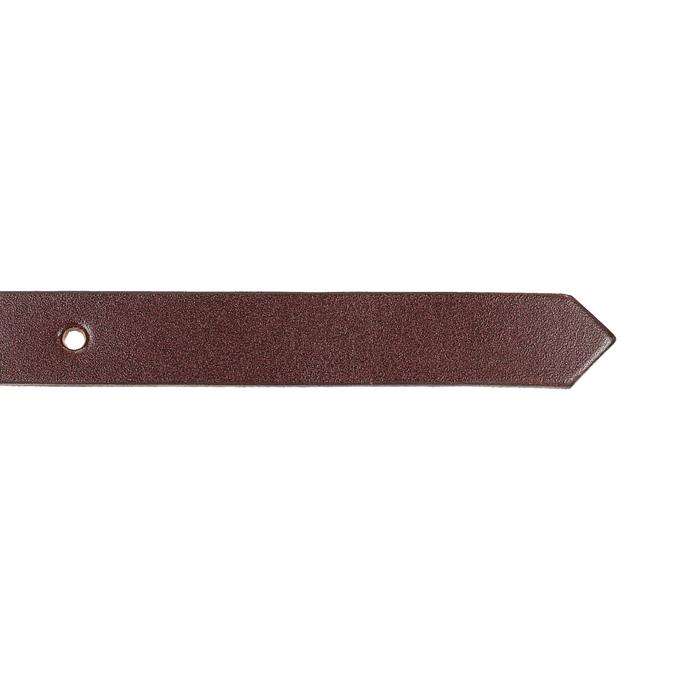 Skórzany pasek zmałą klamrą bata, czerwony, 954-5100 - 16