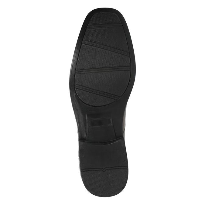 Półbuty męskie ze skóry bata, brązowy, 824-4743 - 26