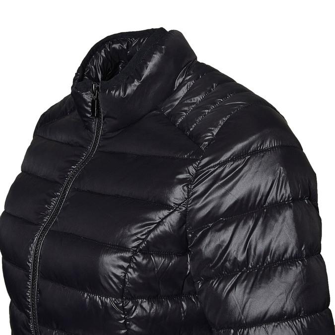 Czarna pikowana kurtka bata, czarny, 979-6637 - 16