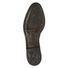 Damskie skórzane kozaki bata, brązowy, 596-3608 - 26