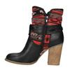 Ocieplane botki w stylu kowbojskim bata, czarny, 699-6603 - 26