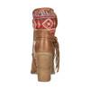 Ocieplane botki w stylu kowbojskim bata, brązowy, 699-4603 - 17