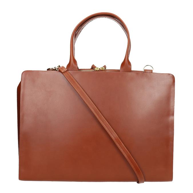 Damska skórzana torba royal-republiq, brązowy, 964-3002 - 19