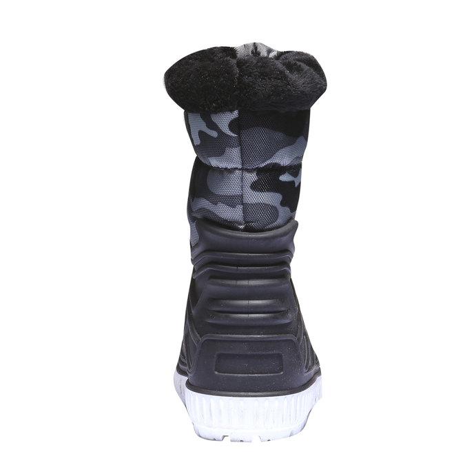 Buty dziecięce mini-b, czarny, 392-6100 - 17
