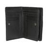 Skórzany portfel damski bata, czarny, 944-6163 - 15