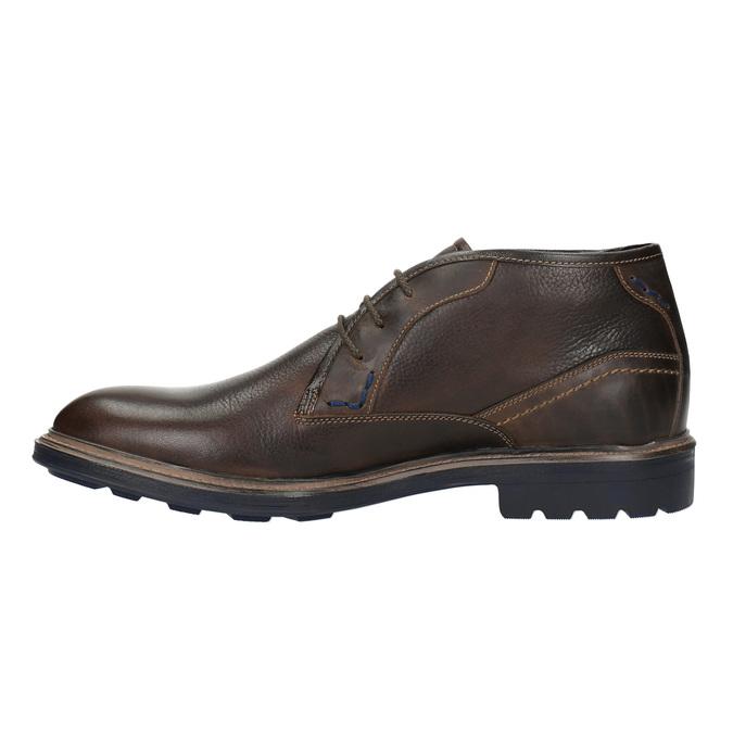 Skórzane buty w stylu Chukka Boots bata, brązowy, 824-4701 - 26