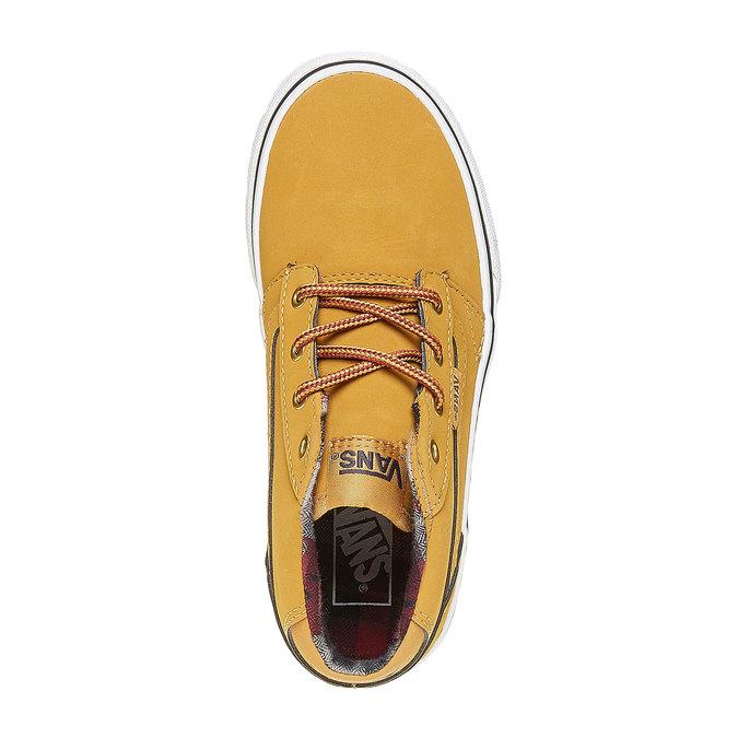 Dziecięce buty sportowe marki Vans vans, żółty, 401-8235 - 19