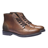 Skórzane buty na co dzień bata, brązowy, 894-3555 - 26
