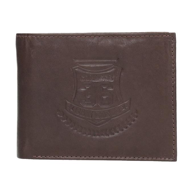 Skórzany portfel męski bata, brązowy, 944-4171 - 26