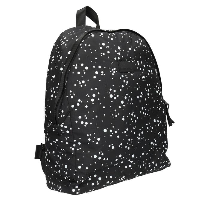 Plecak ze wzorem w kropki bjorn-borg, czarny, 969-6030 - 13