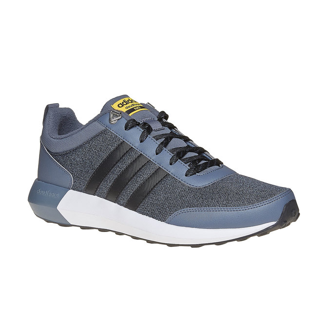 Stylowe męskie buty sportowe adidas, szary, 809-2893 - 13