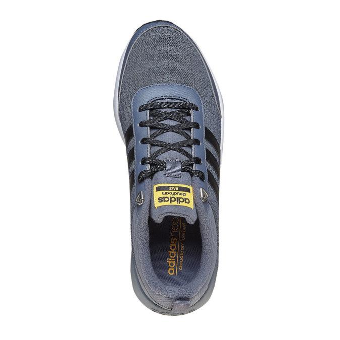 Stylowe męskie buty sportowe adidas, niebieski, 809-2893 - 19