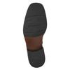 Skórzane ocieplane buty za kostkę bata, czarny, 894-6640 - 19