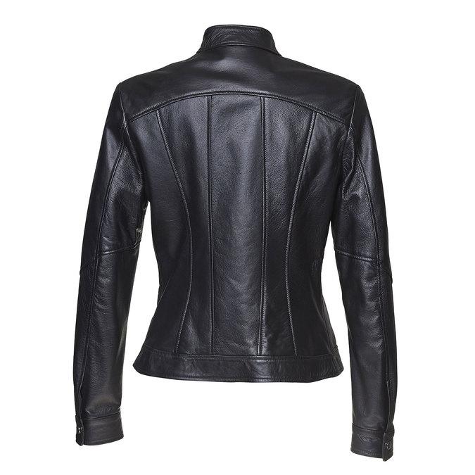 Skórzana kurtka damska bata, czarny, 974-6146 - 26