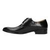 Półbuty męskie ze skóry bata, czarny, 824-6648 - 26
