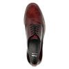 Półbuty angielki damskie bata, czerwony, 528-5600 - 19