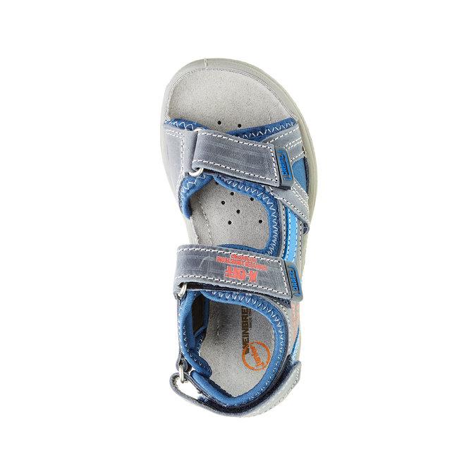 Sandały dziecięce weinbrenner-junior, niebieski, 266-9162 - 19