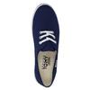 Niebieskie trampki z materiału tekstylnego tomy-takkies, niebieski, 519-9691 - 19