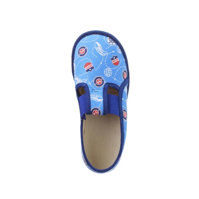 Pantofle dziecięce bata, niebieski, 179-0105 - 19