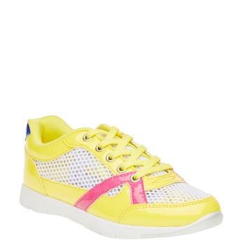 Dziecięce buty sportowe mini-b, żółty, 329-8175 - 13